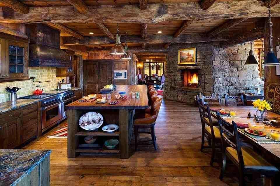 Stunning Cucina Con Camino Photos - Ameripest.us - ameripest.us