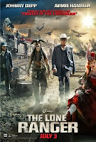 The Longe Ranger with Johnny Depp