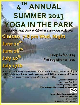 6-26 Yoga In The Park