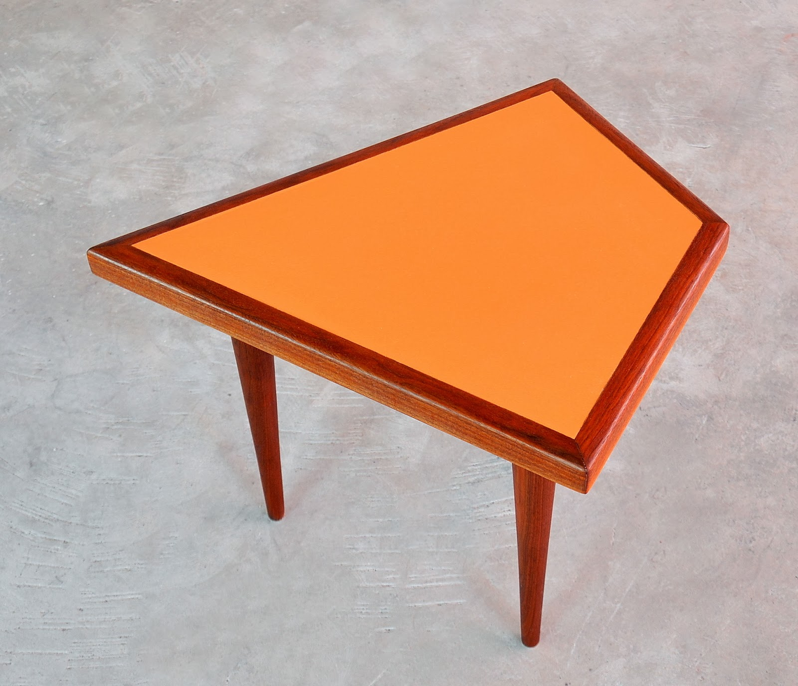 Select Modern Danish Modern Teak Coffee Side Table Set