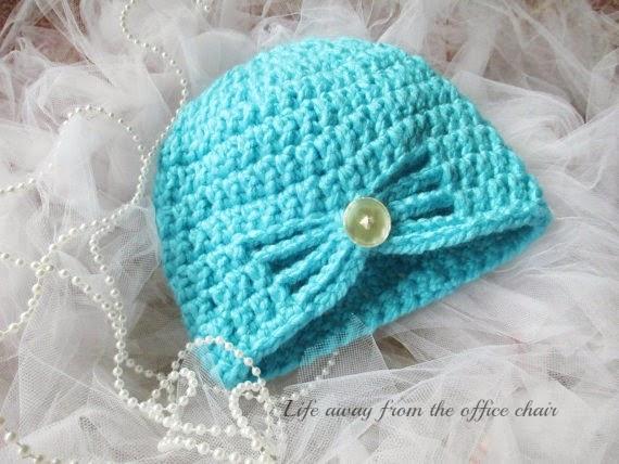 Free Crochet Pattern Butterfly Hat : Crochet Butterfly Beanie *PATTERN* - Life Away From The ...