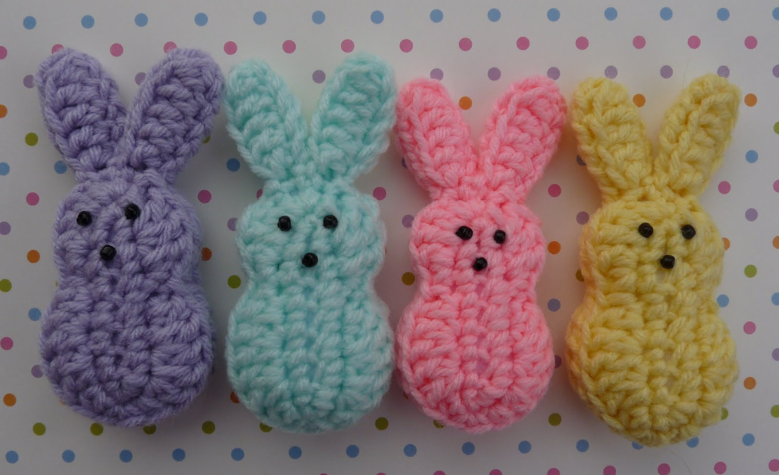 Easter Bunny Crochet Patterns Free - multiforme.top