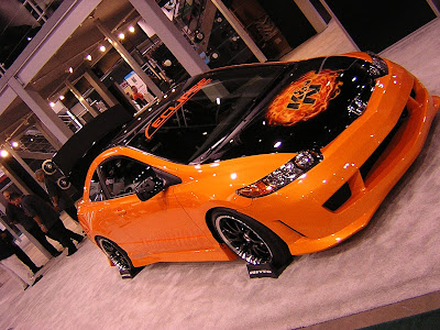 Eclipse Honda Orange Car