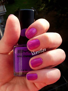 BYS Colour Change - Bright Purple