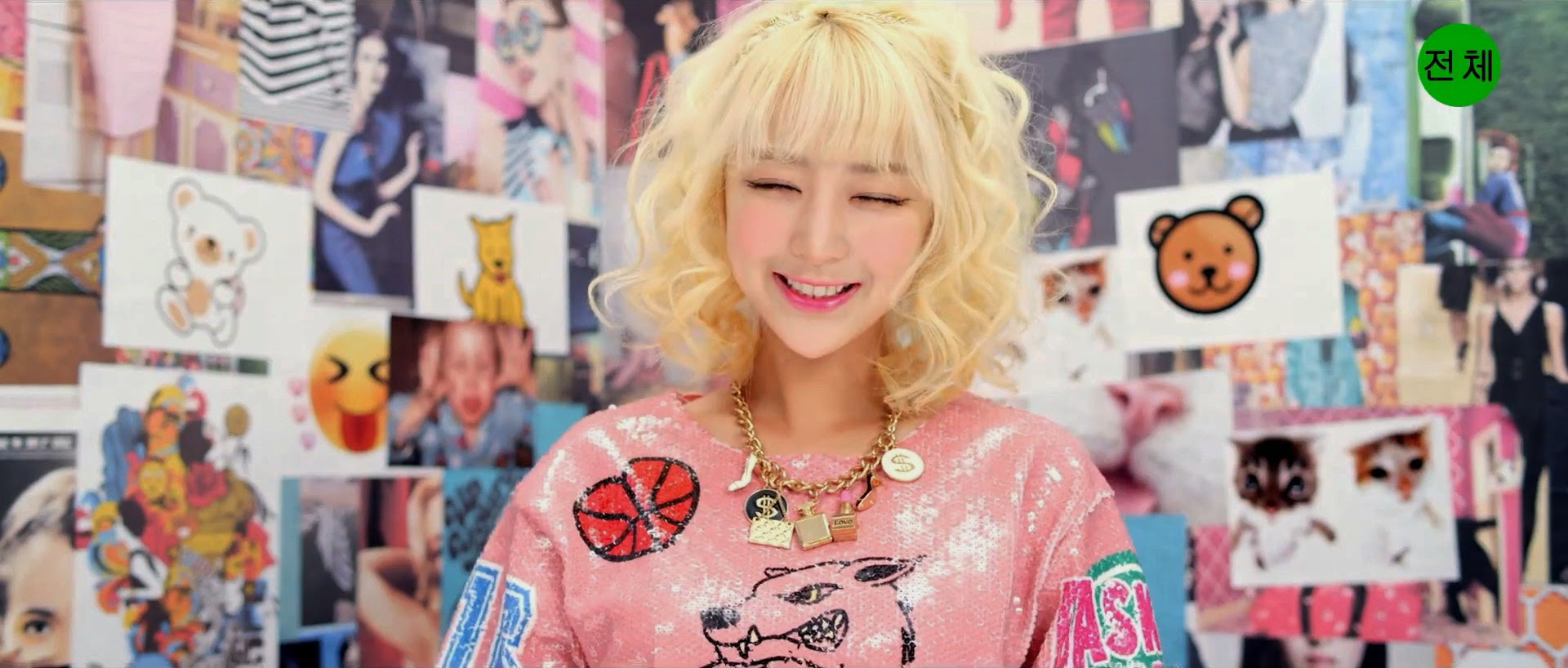 EXID's Hyelin in Ah Yeah MV