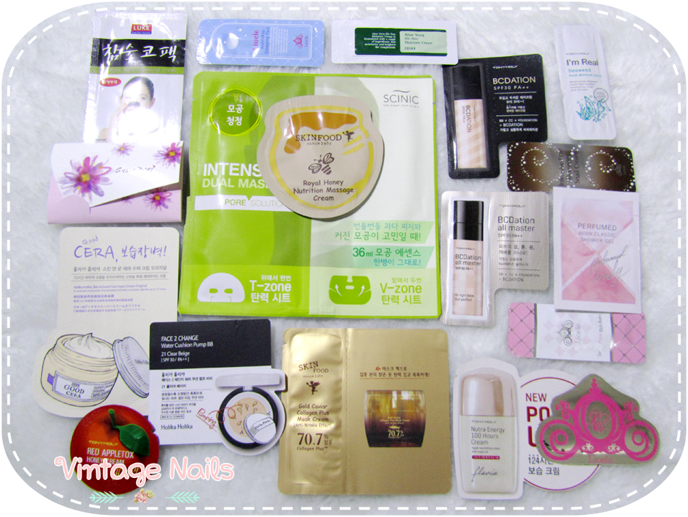 haul, cosmetica coreana, korean cosmetics