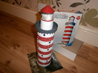 lighthouse 3d puzzle great display piece