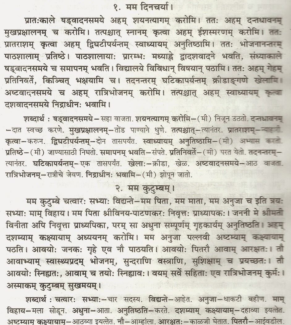 Essay on save environment in marathi