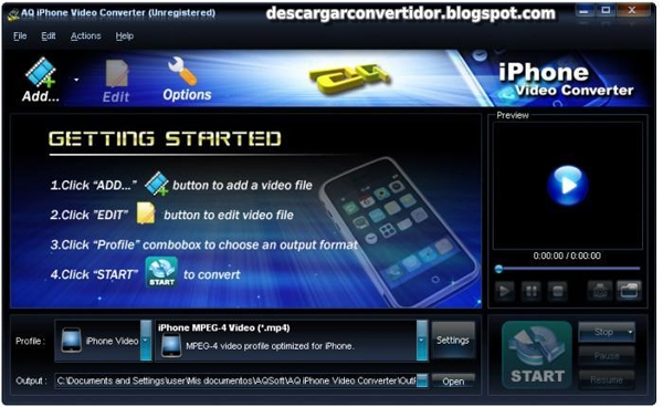 AQ iPhone Video Converter
