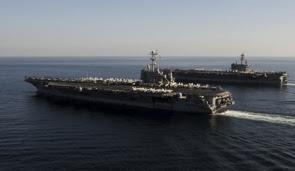 la proxima guerra portaaviones americano golfo persico estrecho ormuz