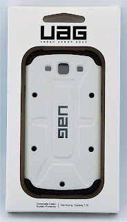 Authentic UAG Urban Armor Gear for Samsung Galaxy S3 w/ Screen Protect - WHITE