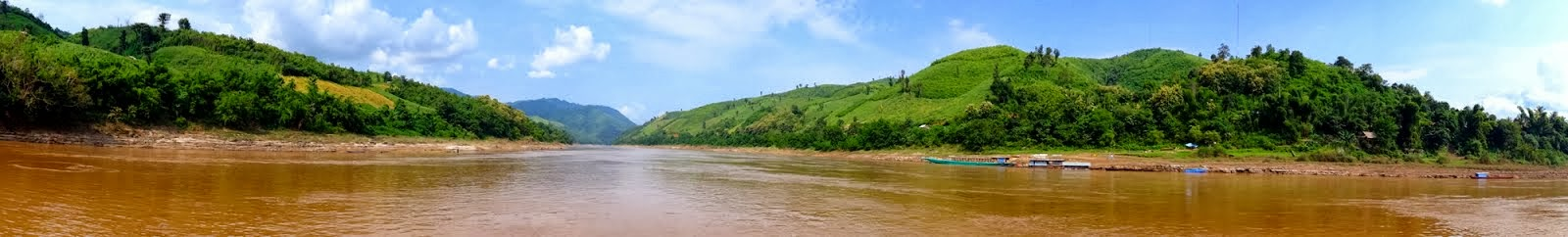Mekong River, Laos...