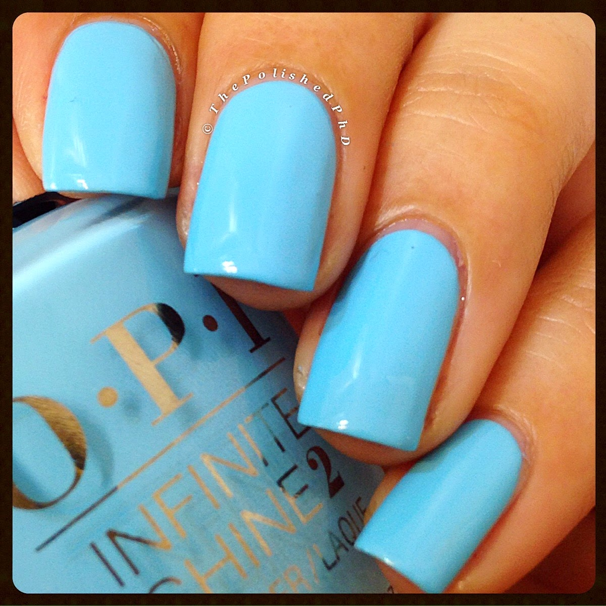 Striped Mani with OPI To Infinity and Blue-yond | The Polished PhD