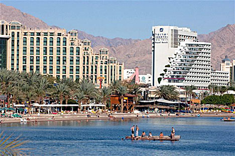 Israel Matzav: A monument to pilgrims to Mecca... in Eilat?