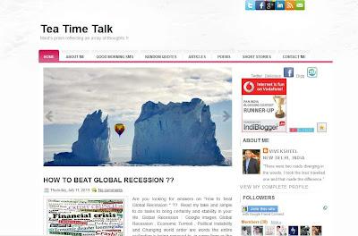 indian blog showcased