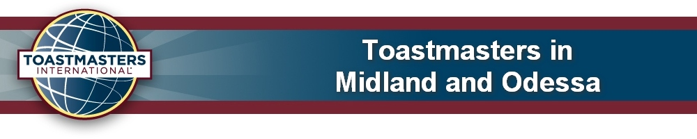 Toastmasters in Midland & Odessa