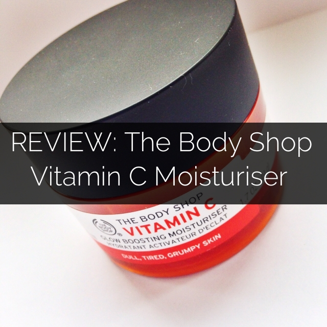 A picture of The Body Shop Vitamin C Glow Boosting Moisturiser