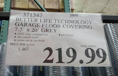 Deal for Better Life Technology G-Floor Garage Flooring Covering at Costco