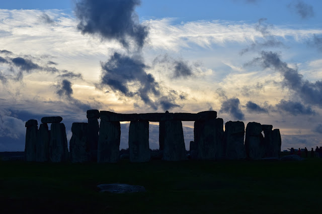 Stonehenge Sunset Winter