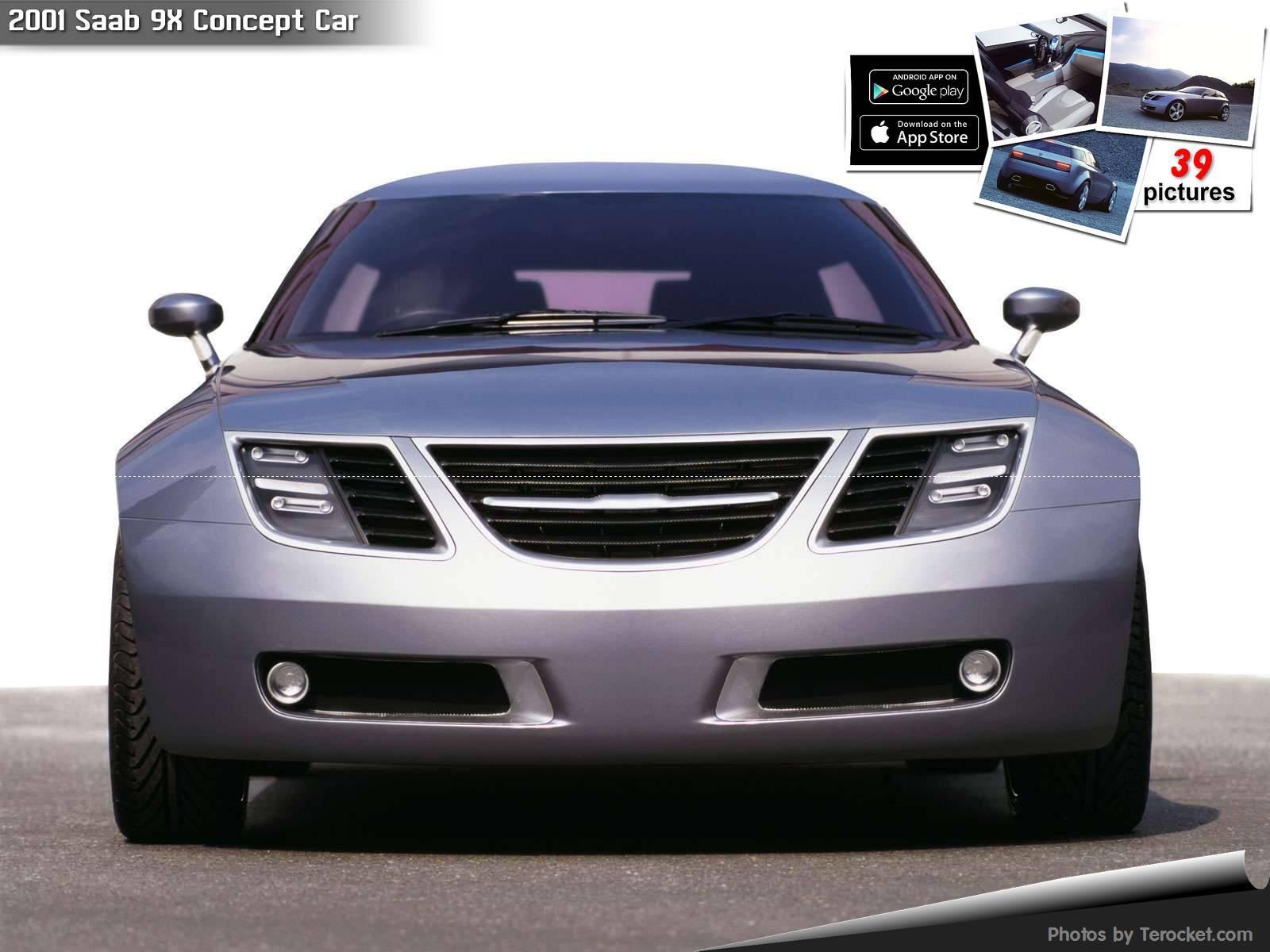 Hình ảnh xe ô tô Saab 9-3X Concept Car 2002 & nội ngoại thất