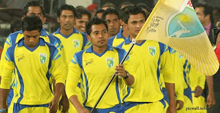 Mushfiqur Rahim with his team Duronto Rajshahi