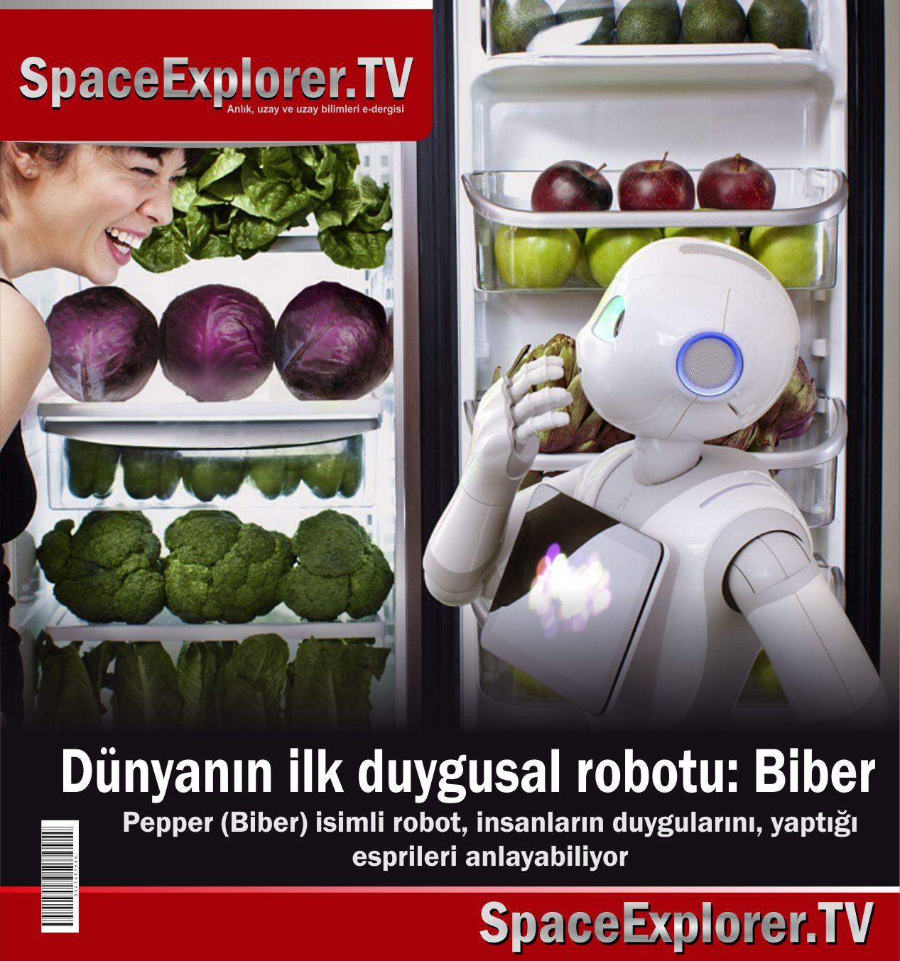 Robot teknolojisi, insansı robotlar, Zihin kontrolü, Yapay zeka, Japonya, Robot Biber (Pepper), Videolar,