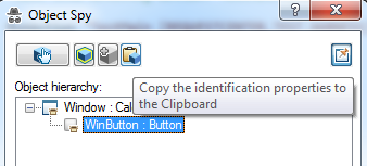 Copy to clipboard in object spy
