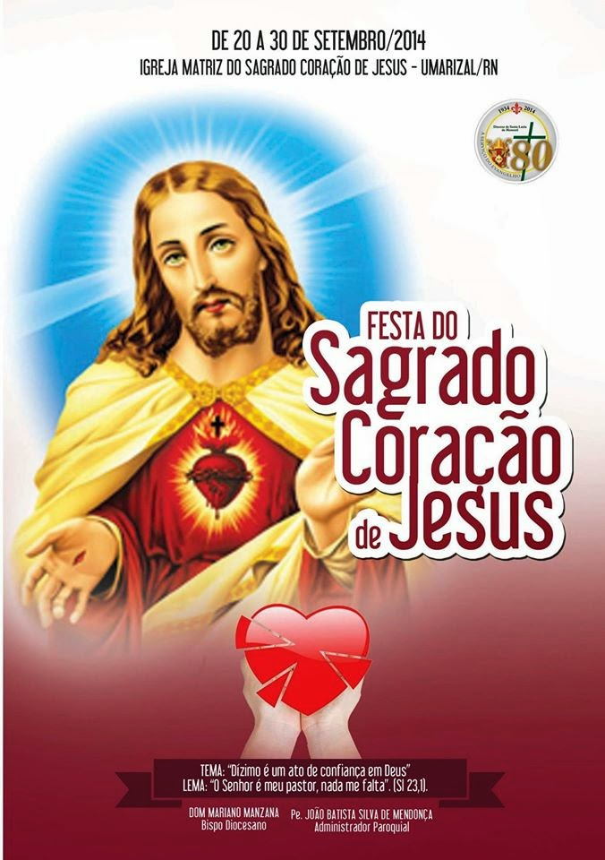 Festa do Sagrado Coração de Jesus 2014
