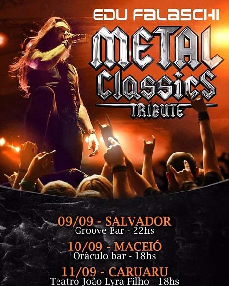 09a11-09-2016 - Metal Classics Tribute - Salvador - BA, Maceió - AL, Caruaru - PE