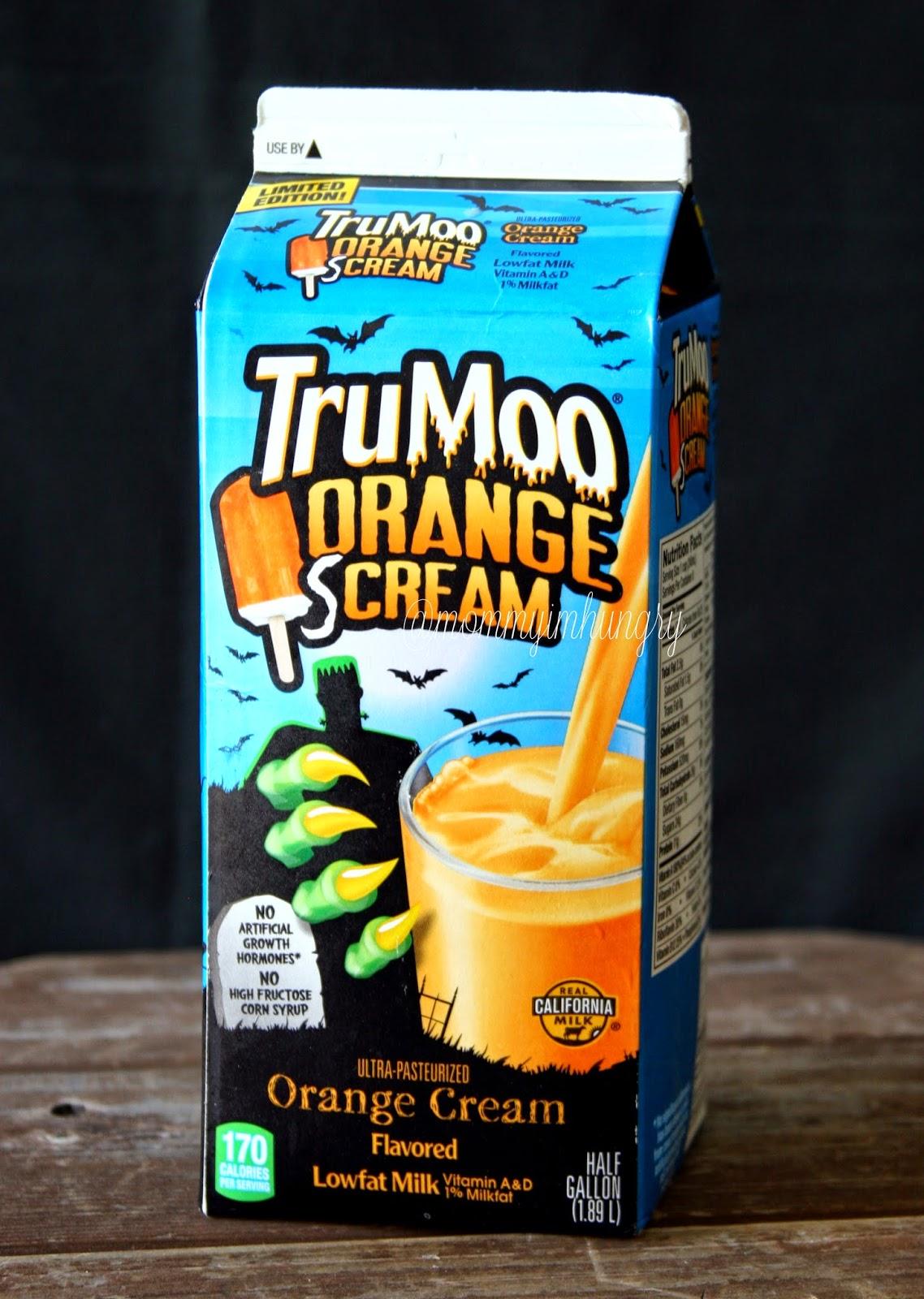 limited edition trumoo orange scream review & orange brownie trifle recipe
