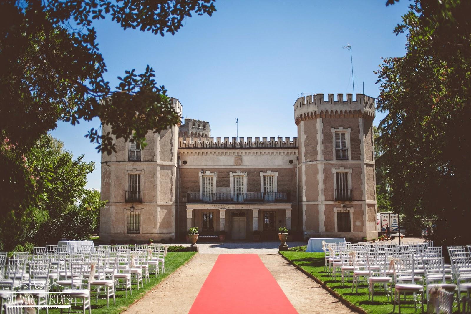 boda aire libre palacio del rincón