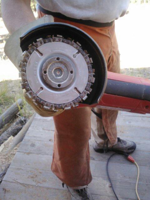 Dead wood renaissance angle grinder quot carving