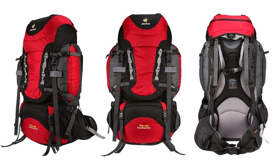 Preço de mochilas para viagem