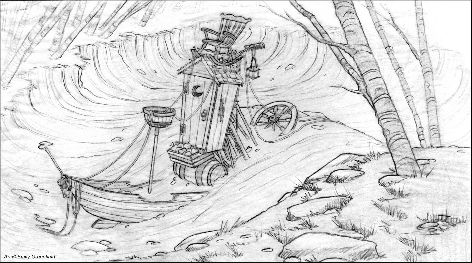 Sensational Emilys Sketchblog Final Pirate Ship Layout Wiring 101 Cominwise Assnl
