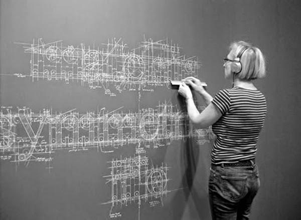 Liz Collini hand-lettered chalk typography