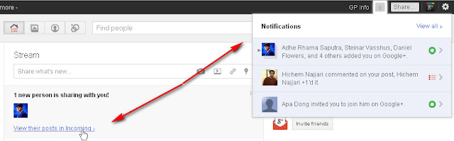 The Basic Guidelines How to Use Google+: Notifications and Incoming