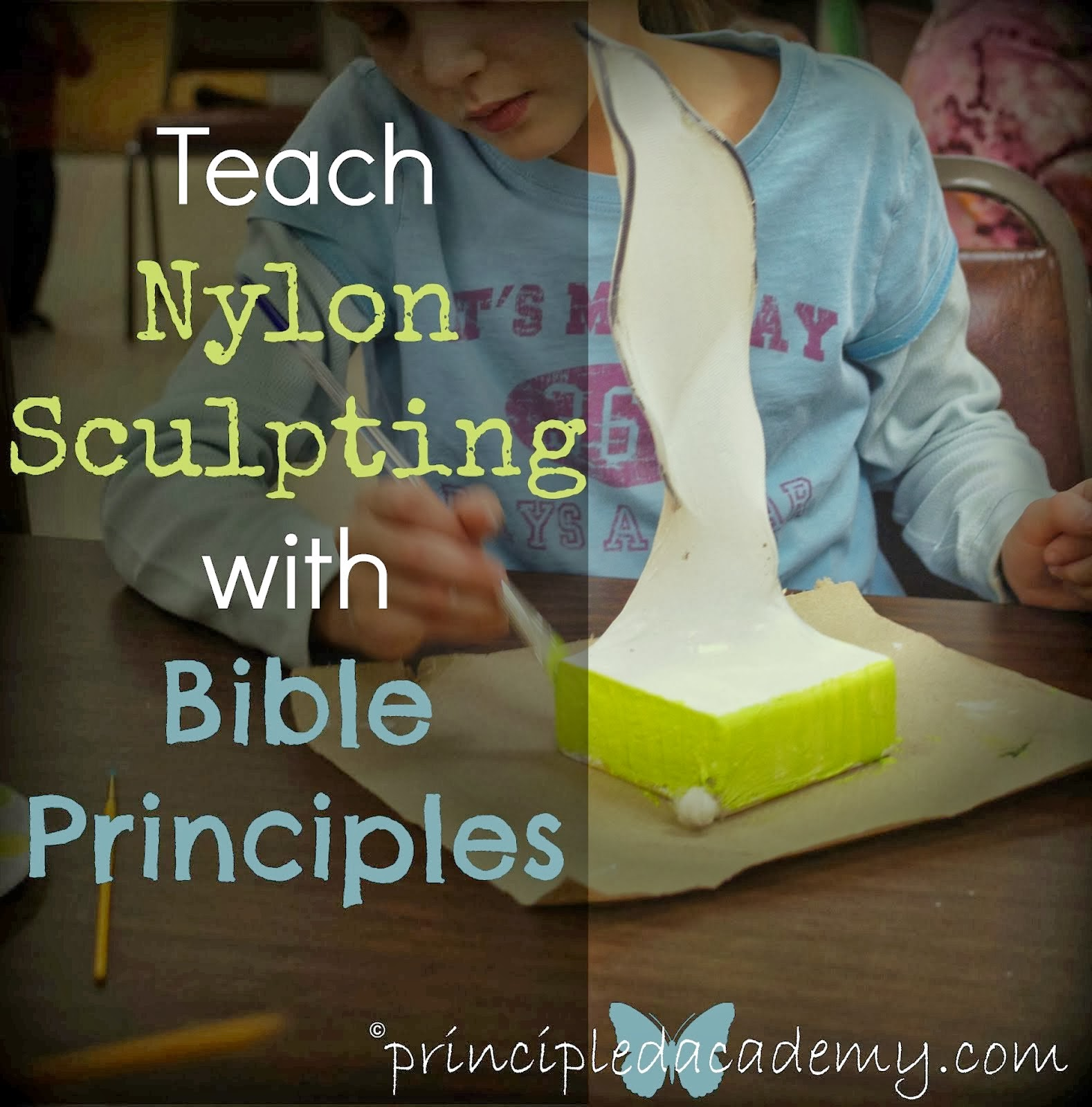 Trending Bible Principle Art Project!