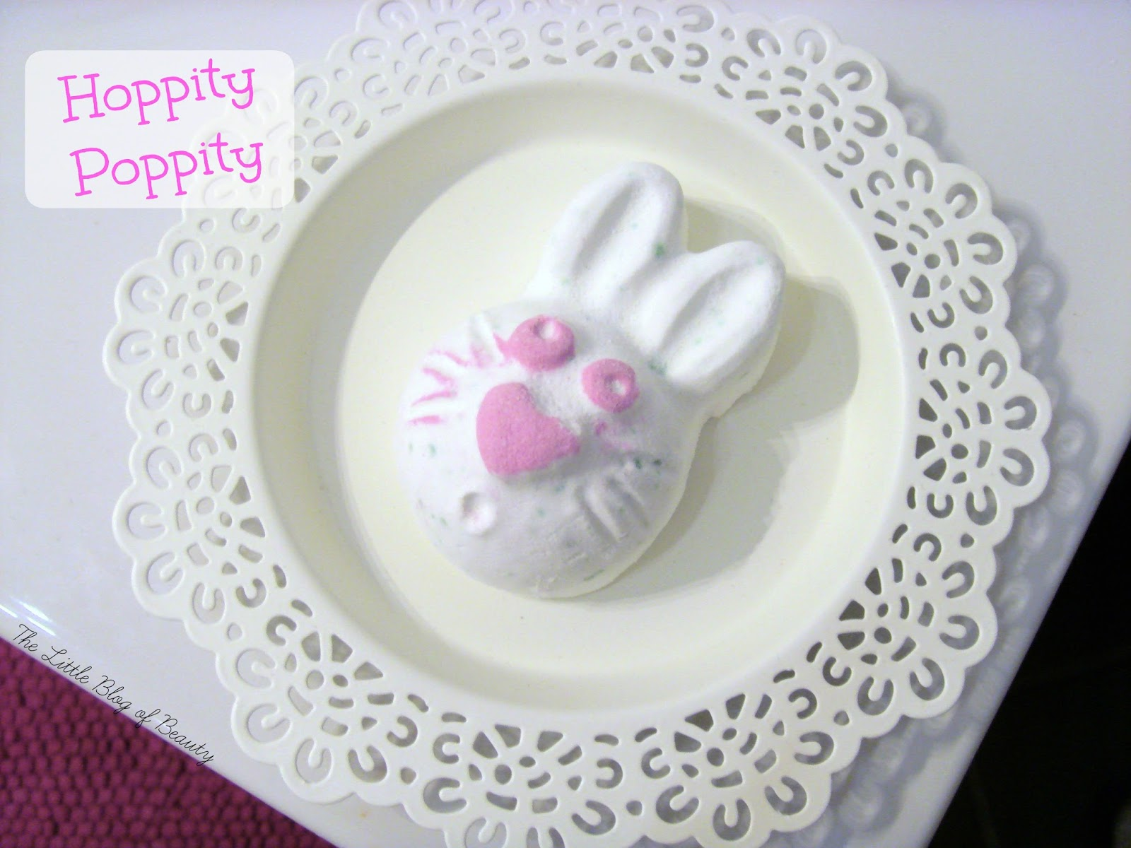 Lush Hoppity Poppity bath bomb