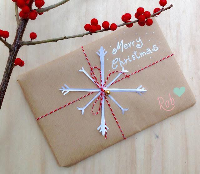 Un fiocco di neve di carta per Natale
