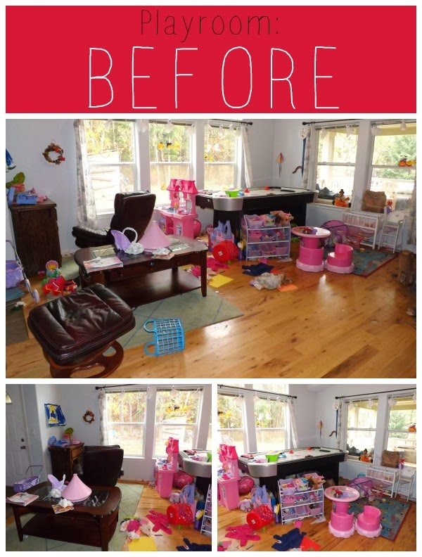 DeClutter Confessions Week 11 ~ Playroom ~ SuperMom Monday