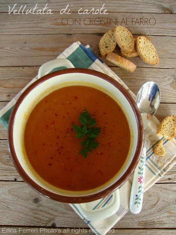 Ricetta della vellutata di carote