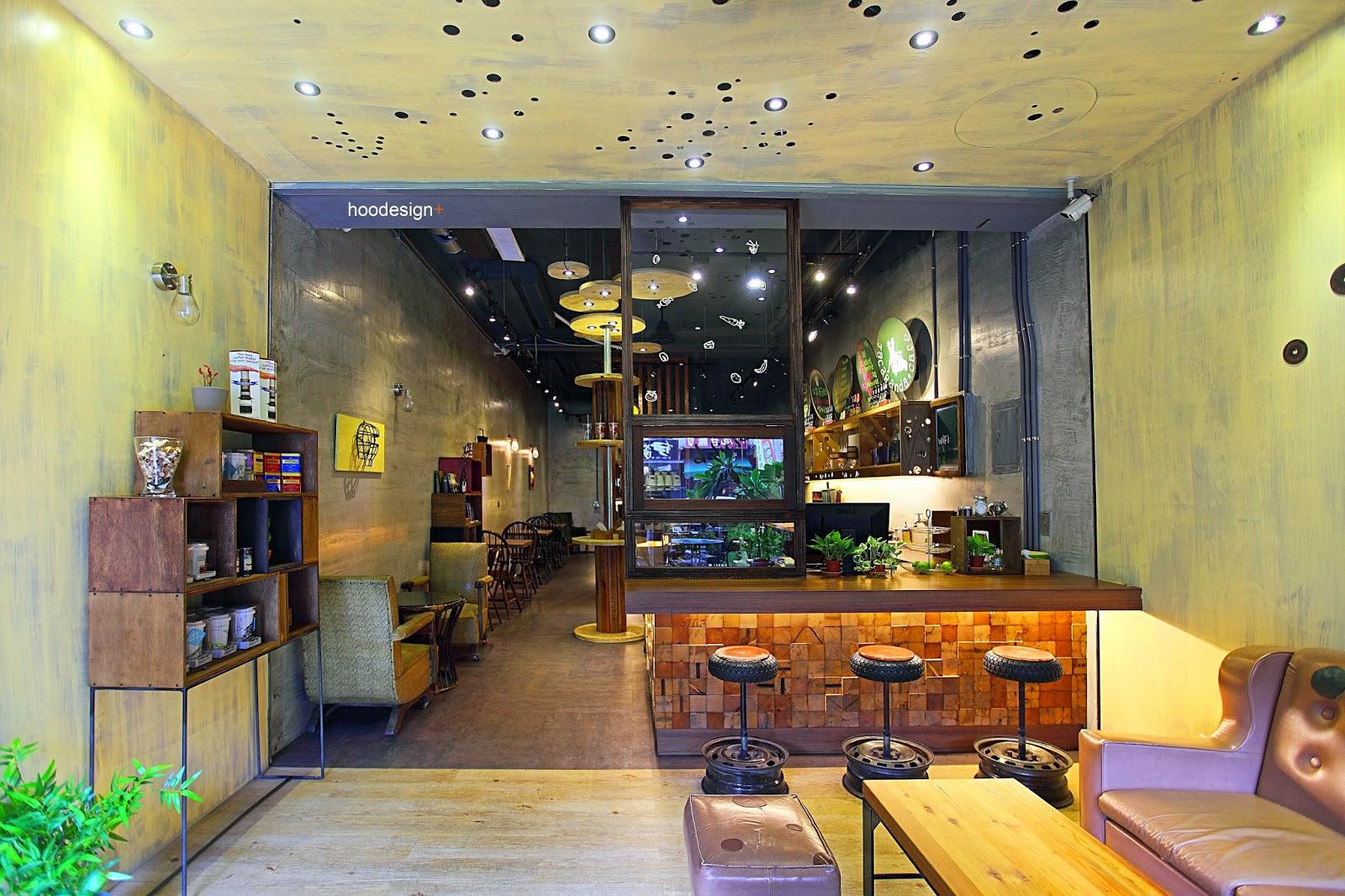天生澳克 餐廳設計  胡淞智規劃、hoodesign+