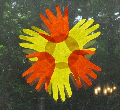Craft Ideas August on And Footprint Arts   Crafts  Handprint Sun Craft Ideas  Round Up