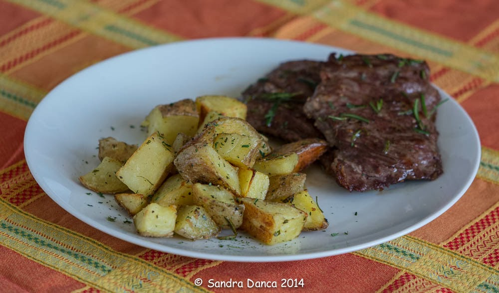 roasted potatoes with skirt steak one skirt steak skirt steak