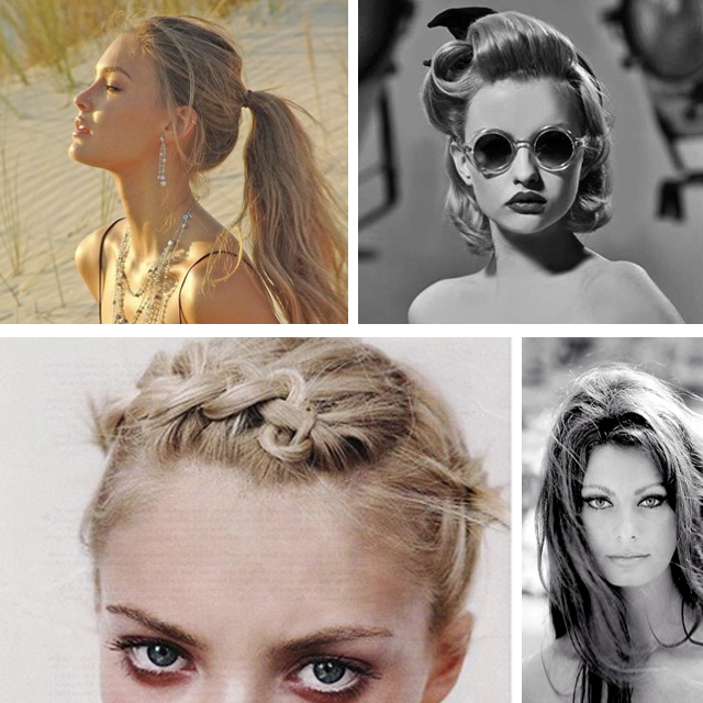 fifteen: Brigitte Bardot | sixteen: Messy High Side Braid |