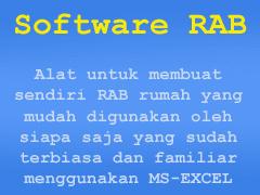 Software RAB alat untuk membuat rab rumah