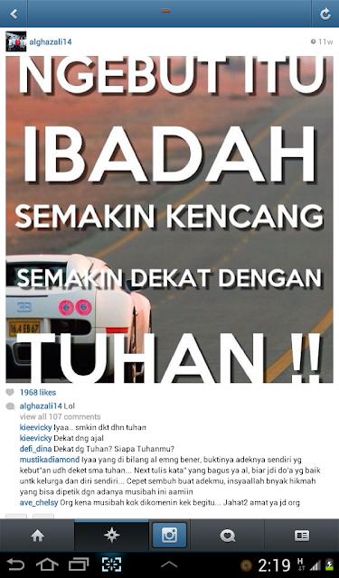 Terbukti!! Ternyata doanya AL Dhani lewat Instagram 100% Terkabul