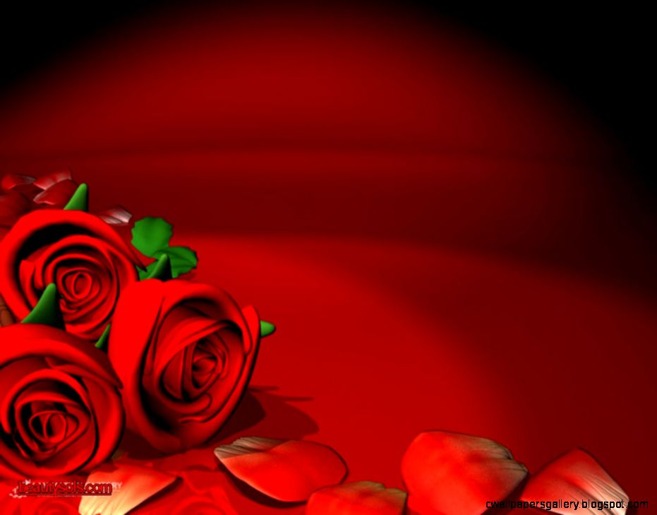 Beautiful Animated Red Roses