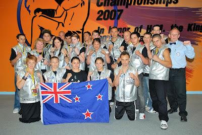 MuayThai IFMA Sue Latta New Zealand