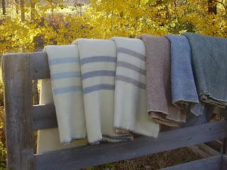 Methow Valley Woolens Wool Blankets